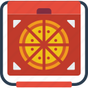 delivery, food, pizza icon