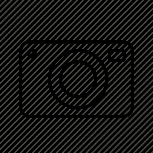 album, camera, gallery, multimedia, outline, pop icon