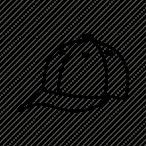 apparel, hat, outline, style, uniform icon