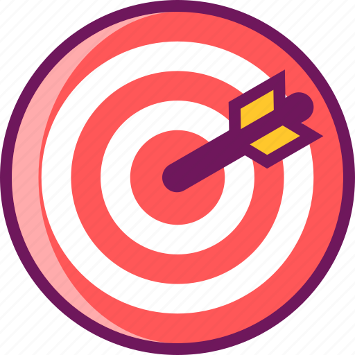 Aim, goal, success, target icon - Download on Iconfinder
