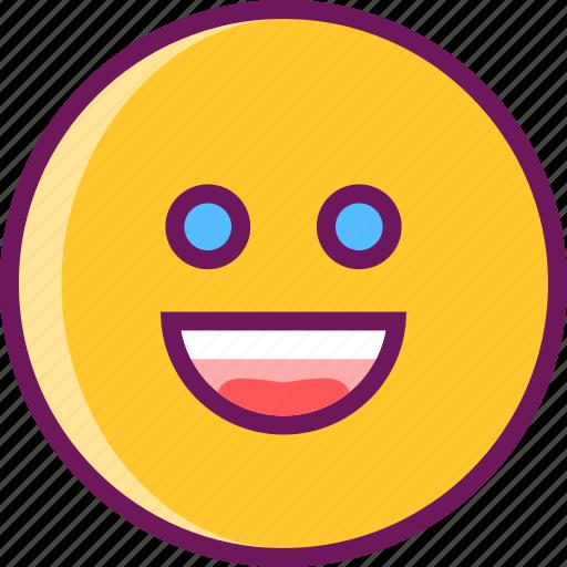 lucky, smile, smiley icon