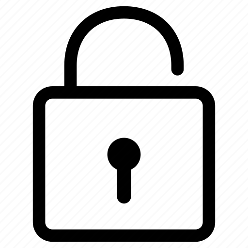lock, password, protection, safe, safety, security, unlock icon