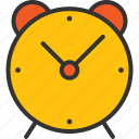 alarm, alarum, alert, clock, notify, time icon