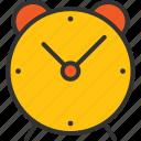 alarm, alarum, alert, clock, notify, time icon