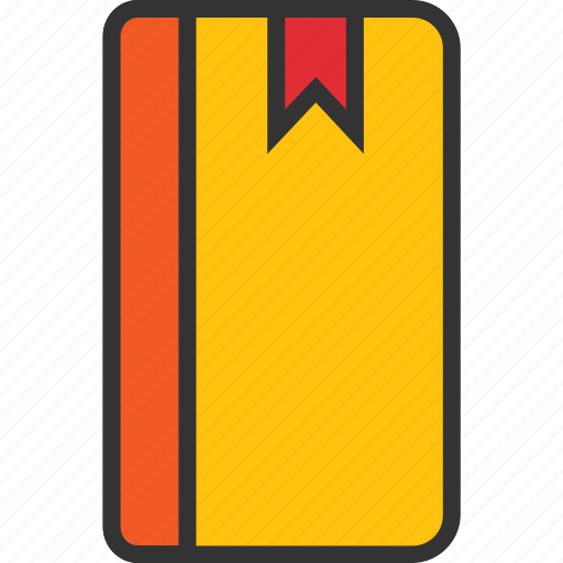 book, bookmark, knowledge, read, reading, study icon