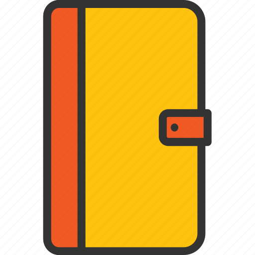diary, memories, notepad, notes, record, writing icon