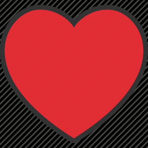 adore, favorite, heart, like, love, passion, romance icon