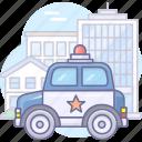 auto, car, police, security icon