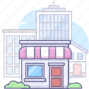 house, shop, store icon