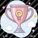 achievement, awards, trophy icon
