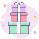 gifts, present, surprise icon
