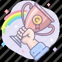 achievement, awards, success, win, winner icon