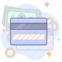 credit card, payment, shopping icon