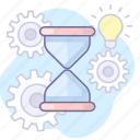 loading, processing, time icon
