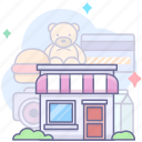 house, shopping, store icon