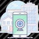 camera, mobile, video icon