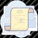 code, document, paper icon