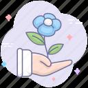 garending, growing, growth icon