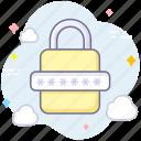 lock, navigation, password, security icon