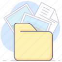 archive, document, folder, photo, picture icon