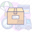 box, cargo, delivery, shipping icon