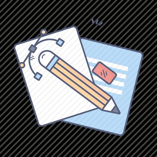 art, creating, design, pencil, tools icon