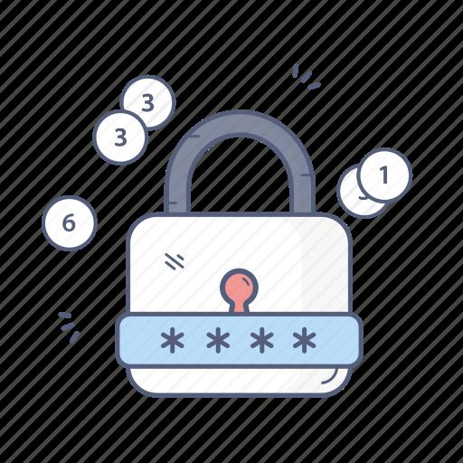 lock, password, protection, security icon