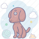 animal, dog, guard, pet, security icon