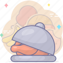 cooking, foods, meal icon