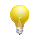 bulb, innovation, light icon