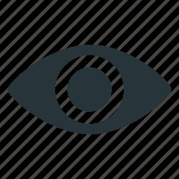 explore, eye, look, mixed, view icon