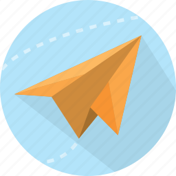 business, crisp, financial, flight, improvement, lift off, momentum, money, paper, paper plan, plane, progress, shopping, smooth sailing, streamline icon