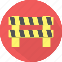 automobile, block, cancel, car, close, delete, delivery, exit, road, roadblock, sign, stop, traffic, transport, transportation, travel, truck, turn around, vehicle, wrong way icon