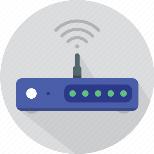 business, download, internet, it, modem, network, remote, signal, technology, wifi, wifi modem, wireless icon