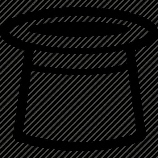 gibus, hat, magic, top, topper icon