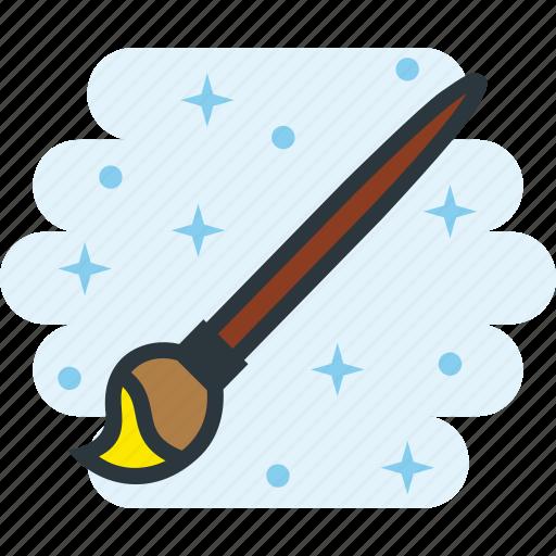 brush, paint, paintbrush, painting, tools icon