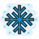 cold, frozen, snow, snowflake, winter icon