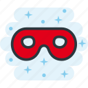 incognito, mask, masked, secure icon
