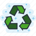 eco, ecology, environment, garbage, green, recycle icon