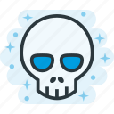 bone, death, head, skull icon