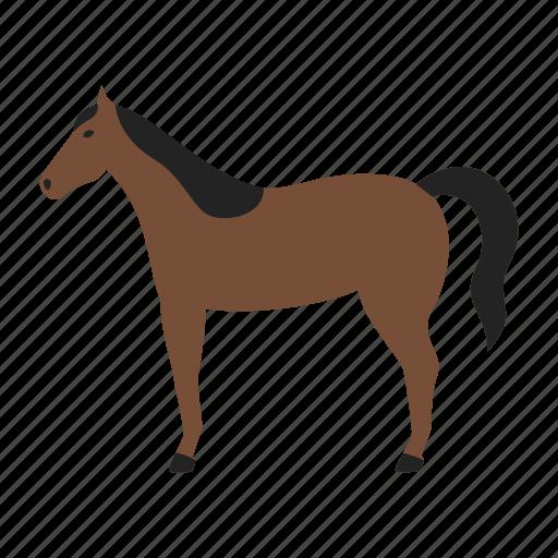 farm, horse, mustang, pony, ranch, stallion icon