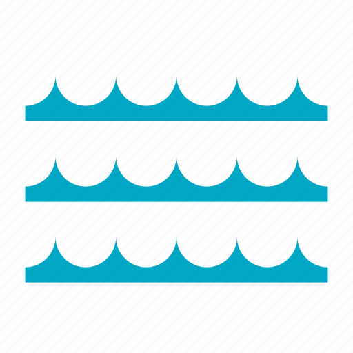 lake, ocean, river, sea, water, wave icon