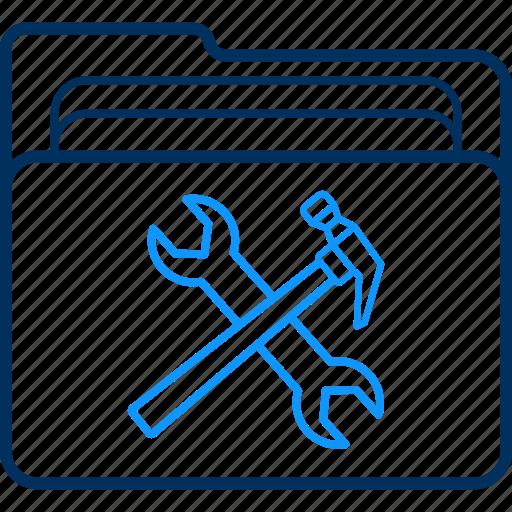 configuration, folder, options, setting, settings, tool, tools icon
