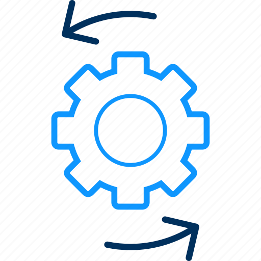 business, data, management, process, processing icon