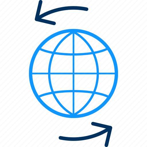 World, global, international, web, network, business, internet icon