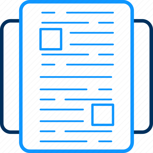 business, document, file, page, paper, web icon
