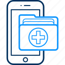 app, device, folder, mobile, phone, smartphone icon