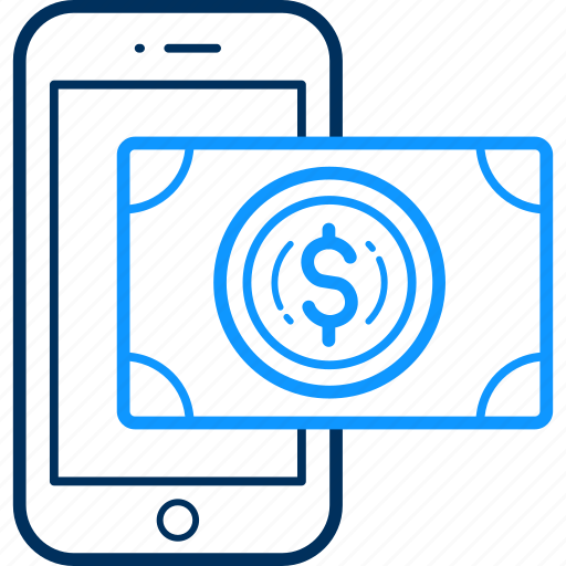 Dollar, mobile, money, online, pay, payment, phone icon - Download on Iconfinder