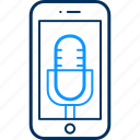 audio, device, mobile, music, smartphone, sound, technology icon