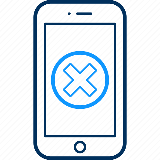 device, divide, mobile, phone, screen, smartphone icon